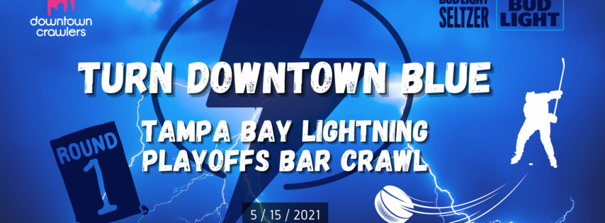 Tampa Bay Lightning Playoffs Bar Crawl 'Turn Downtown Blue'