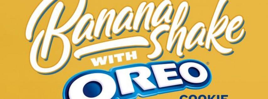 Limited Time Banana Oreo Shake at PDQ!