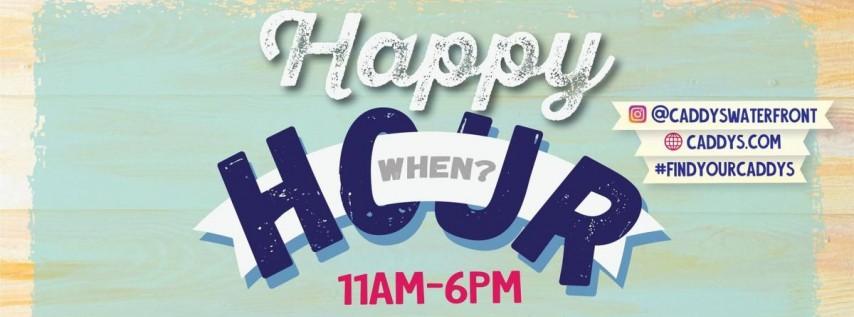 Caddy's Happy Hour Gulfport 6/28 - 7/2