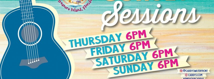 Sunset Sessions at Caddy's Treasure Island 6/17 - 6/20
