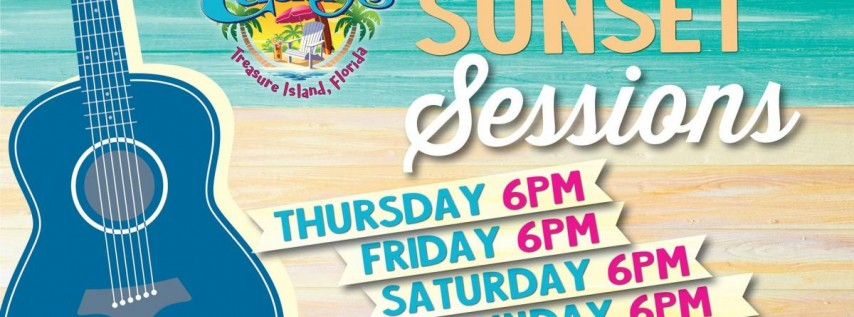 Sunset Sessions at Caddy's Treasure Island 6/24 - 6/27