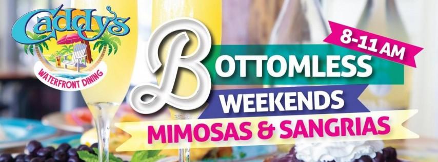 Bottomless Weekends at Caddy's Treasure Island 6/19 - 6/20