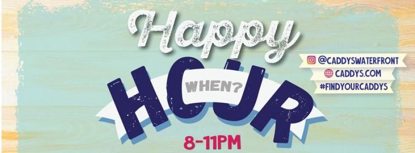 Caddy's Happy Hour Treasure Island 6/14 - 6/18
