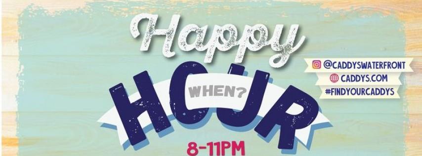 Caddy's Happy Hour Treasure Island 6/21 - 6/25