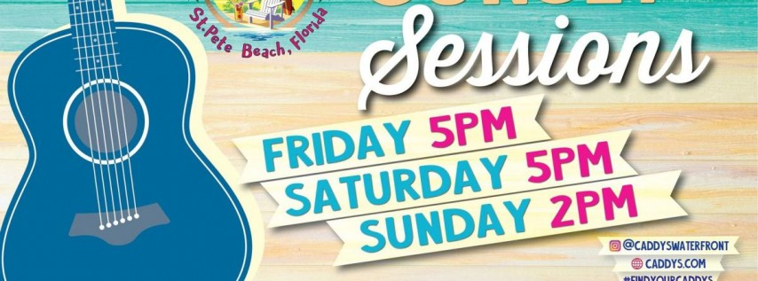 Sunset Sessions at Caddy's St. Pete Beach 6/18 - 6/20