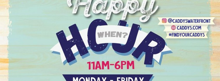 Happy Hour at Caddy's Indian Shores 6/14 - 6/18