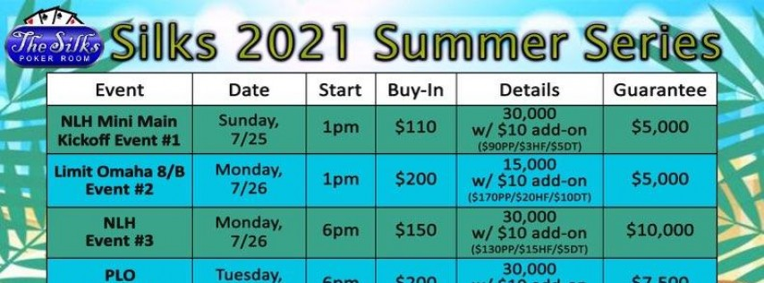 Silks 2021 Summer Series