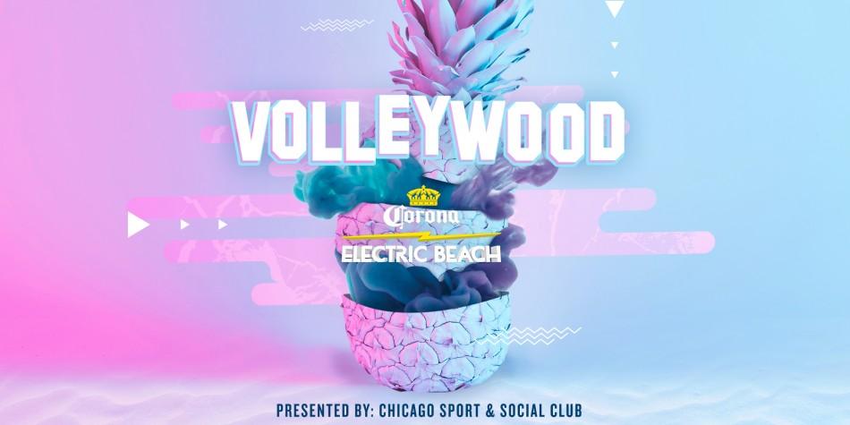 Volleywood Featuring Corona Electric Beach