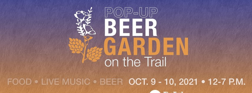 Pop-Up Beer Garden on the Trail