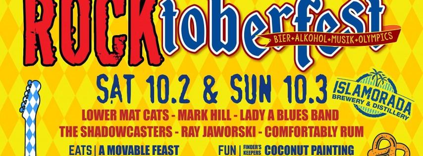 Rocktoberfest at Islamorada Brewery & Distillery