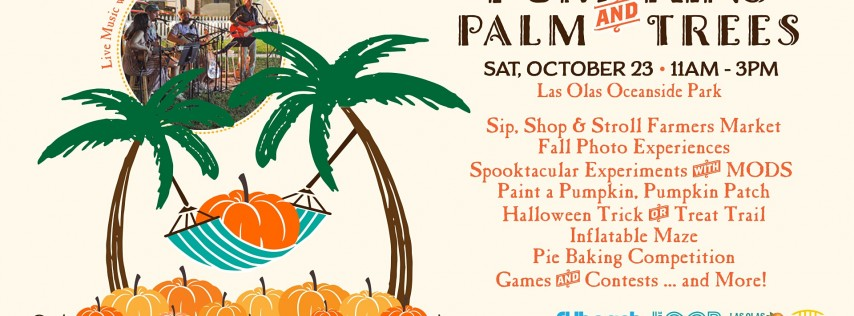 Pumpkins & Palm Trees