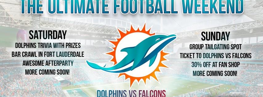 Miami Dolphins Bar Crawl 2021