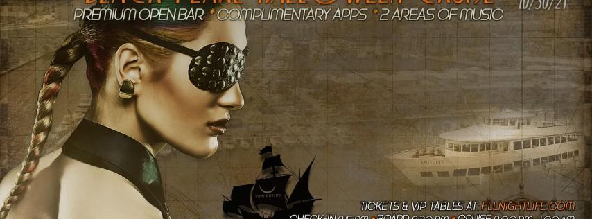 Fort Lauderdale Halloween Yacht Party - The Black Pearl