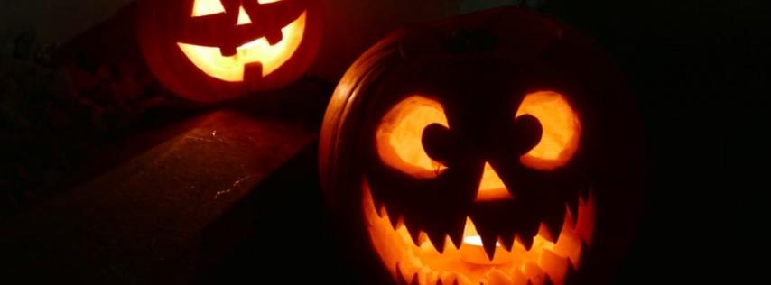 Glow In The Dark Halloween Paint & Sip