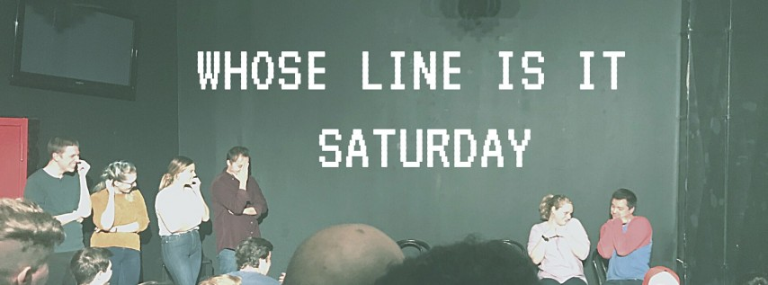 Whose Line Is It Saturday