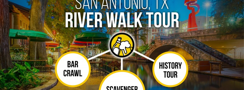 San Antonio River Walk Bar Crawl & History Tour :: Brews & Clues