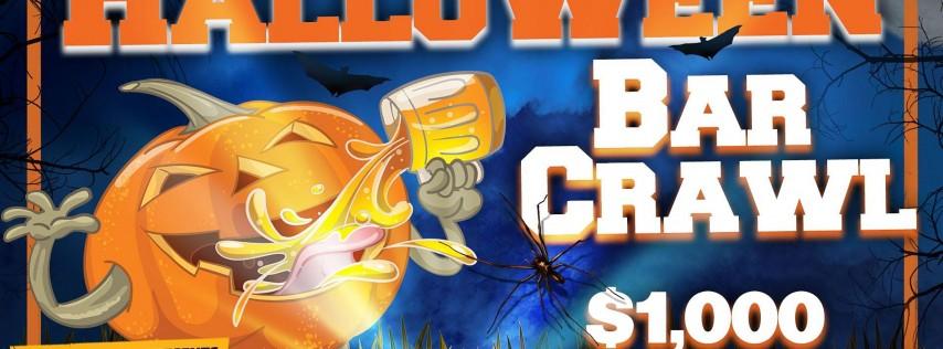 The 4th Annual Halloween Bar Crawl - San Antonio