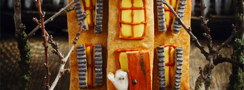 Parent & Child: Decorate a Haunted Gingerbread House
