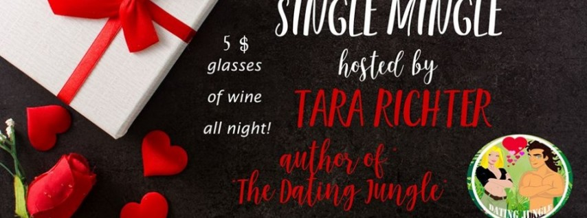 Valentne's Day Single Mingle & Dating Jungle Book Signing by Local Author