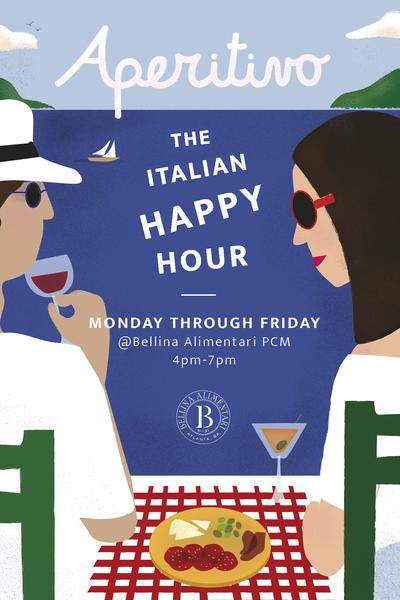 Bellina Alimentari's Aperitivo – The Italian Happy Hour
