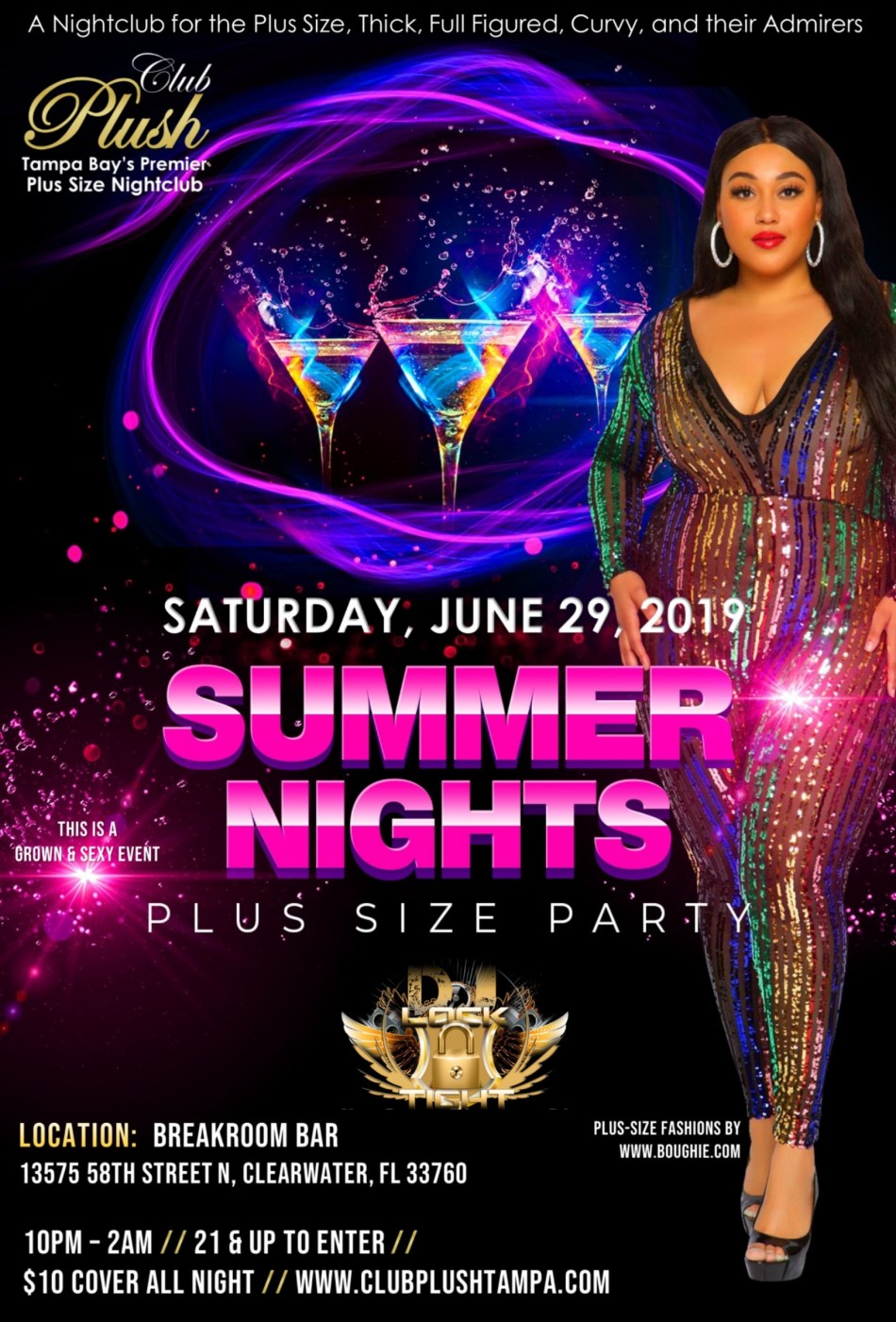 Plus Size Party – Summer Nights