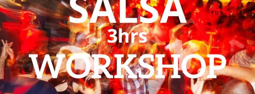 Salsa 3 hrs Workshop