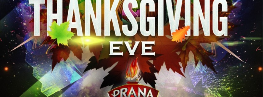 Pre-Thanksgiving Party at Club Prana