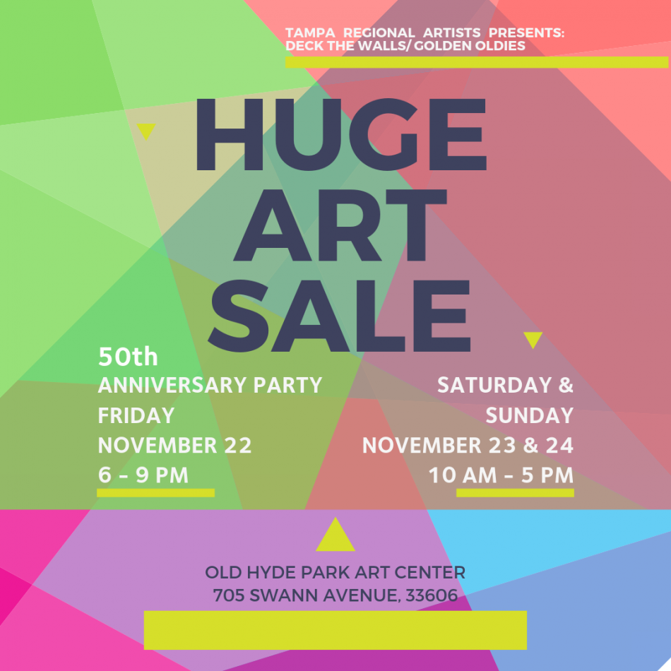 50th Anniversary Party & Art Sale
