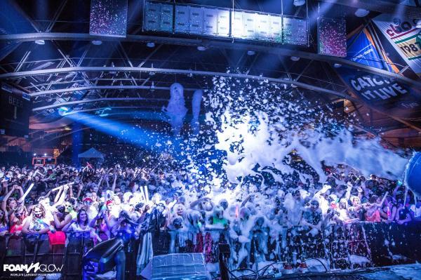 Foam N Glow Austin Tx Quot World S Largest Foam Party