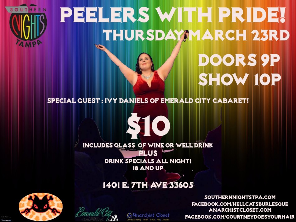 Peelers With Pride! feat. Ivy Daniels!