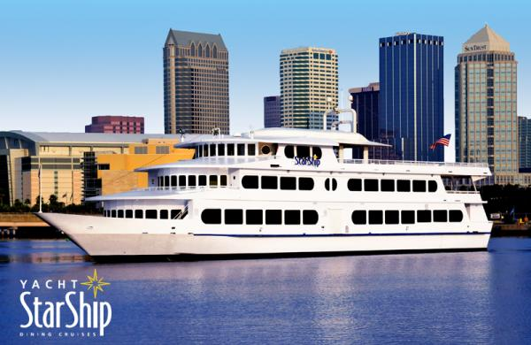 Yacht Starship Father S Day Dinner Cruise Clearwater St