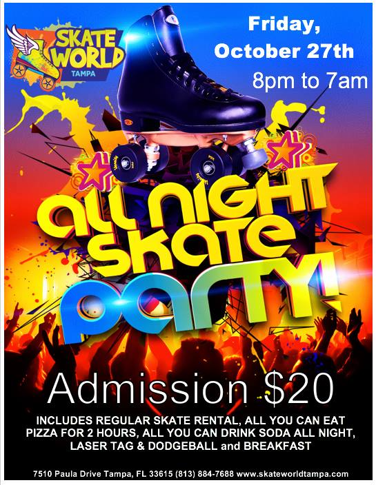 Halloween All Night Skate