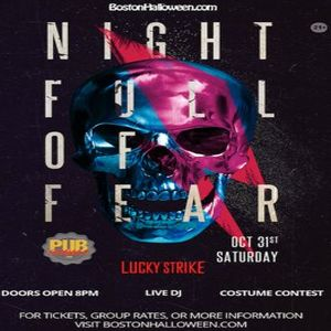 Halloween Party Oct 31, 2020 Near Me Lucky Strike Club 'Night Full of Fear' Halloween Party   October
