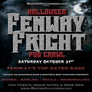 Halloween 2020 Fenway Theater Boston Fenway Fright Night Halloween Bar Crawl   October 31, 2020