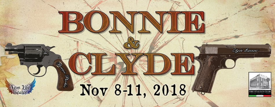Bonnie & Clyde, Tampa FL - Nov 8, 2018 - 8:00 PM