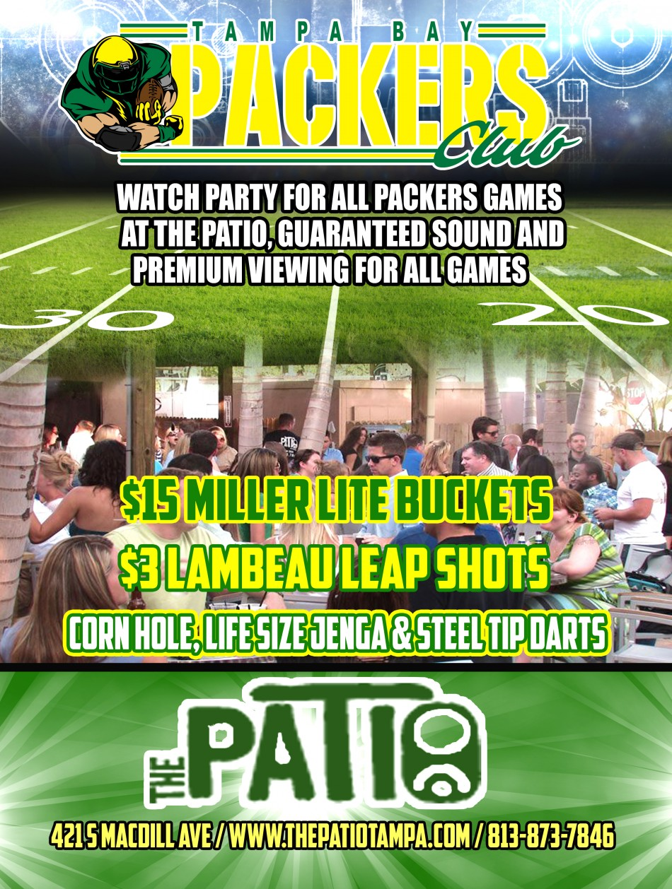 Packers Vs Chargers Watch Party Tampa Fl Oct 18 2015