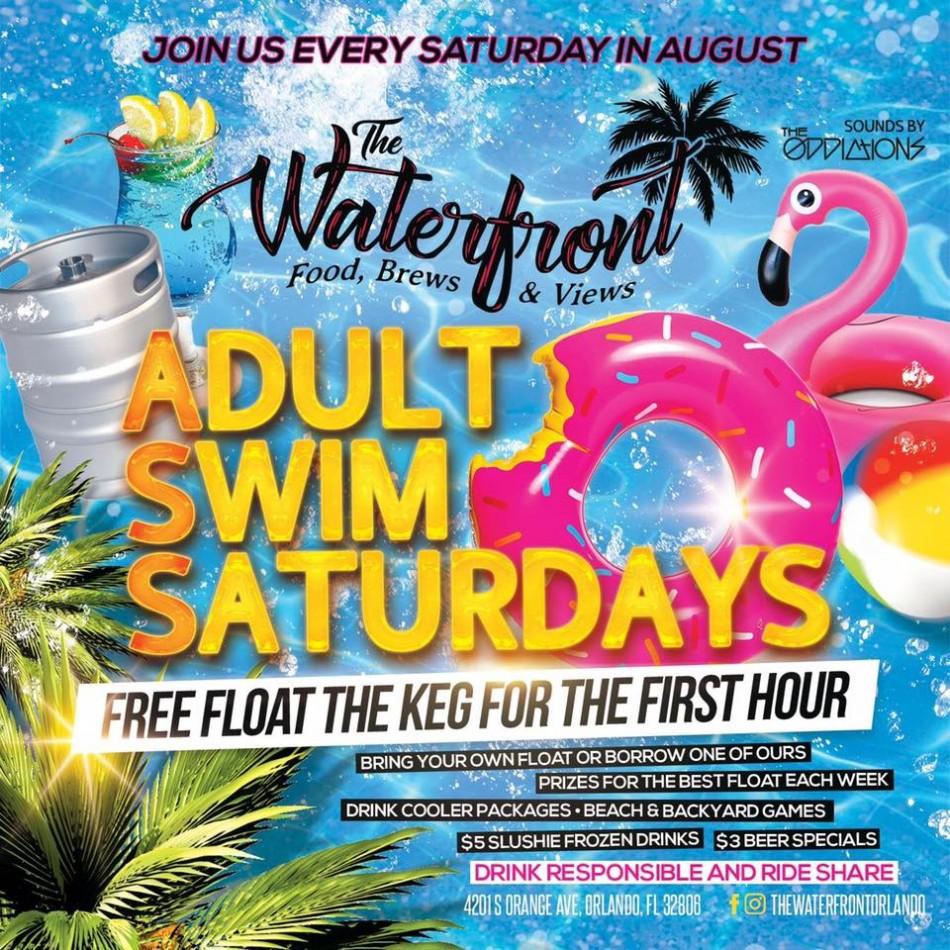 Adult Swim Saturdays at The Waterfront Orlando
