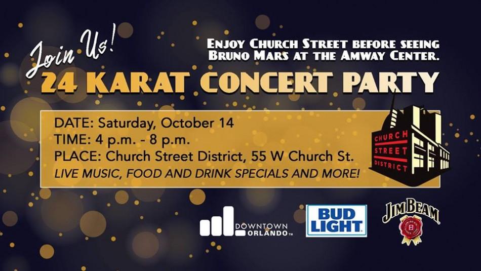 24 Karat Concert Party - Church Street District