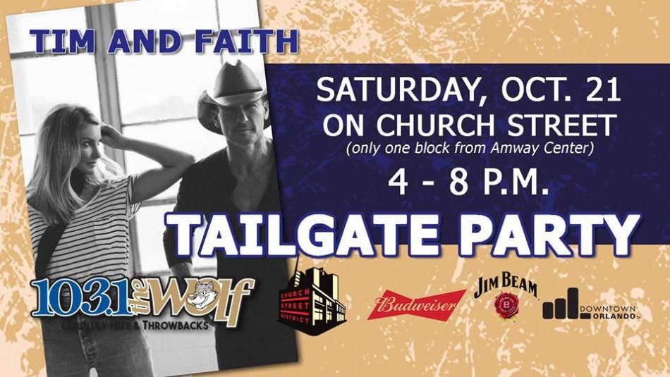 Tim & Faith Tailgate - Church Street District