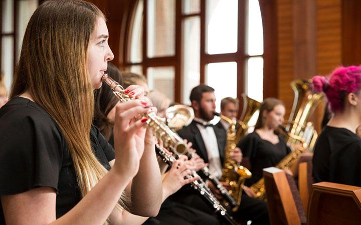 UT Wind Ensemble and Jazz Combo