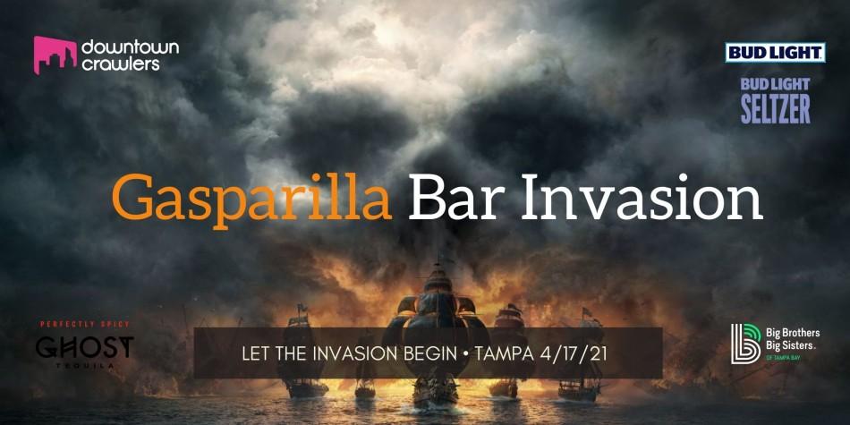 Gasparilla Bar Invasion