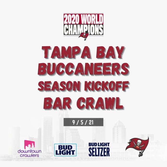 Tampa Bay Buccaneers Season Kickoff Bar Crawl