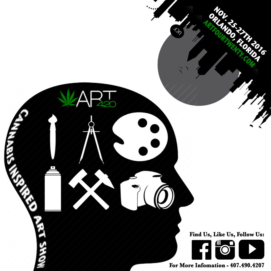 2nd Annual ART420 Cannabis Inspired Art Show