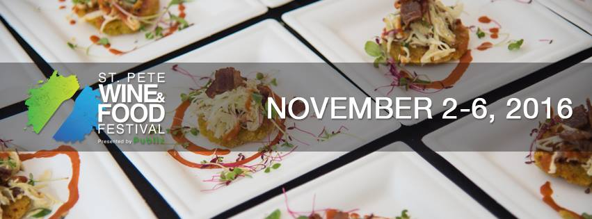 St Pete Food And Wine Festival  Tickets