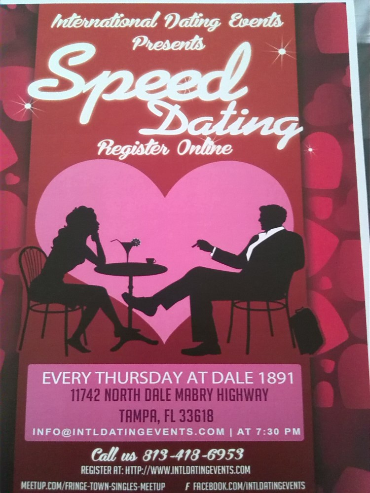 What is a speed dating event