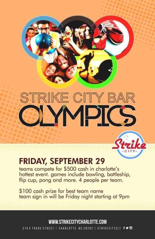Strike City Bar Olympics