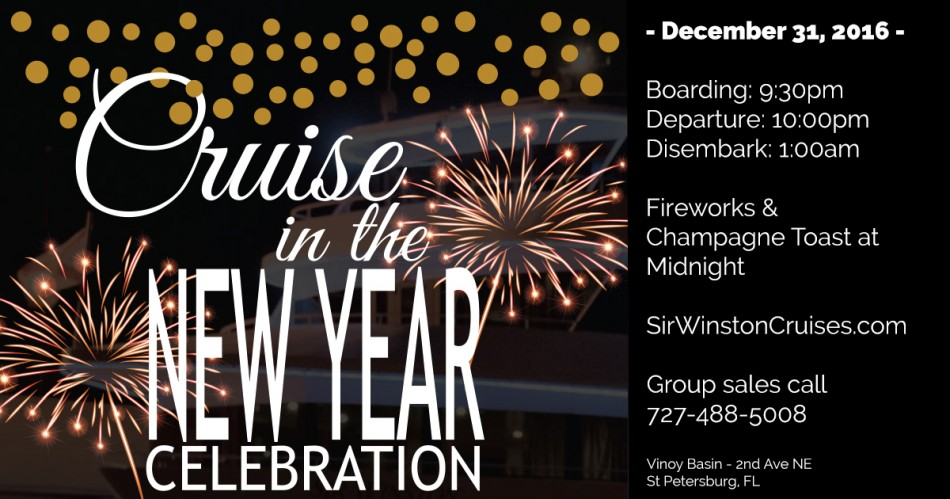 Cruise in the New Year Celebration