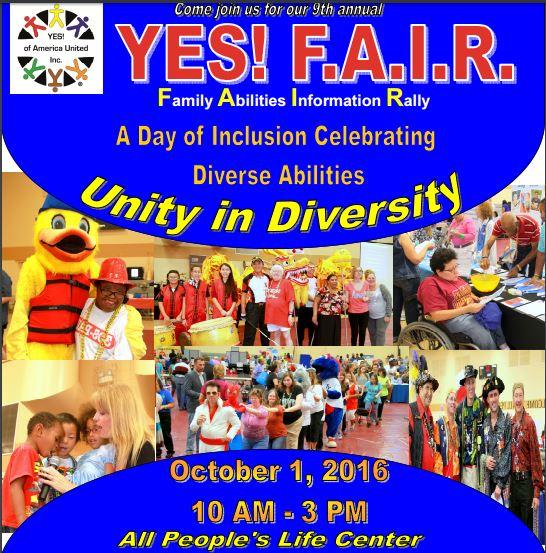 9th Annual Family Abilities Information Rally-FAIR