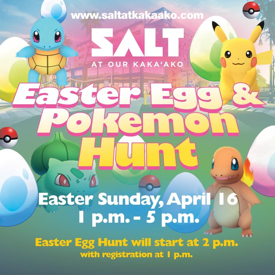 SALT Easter Egg & Pokemon Hunt