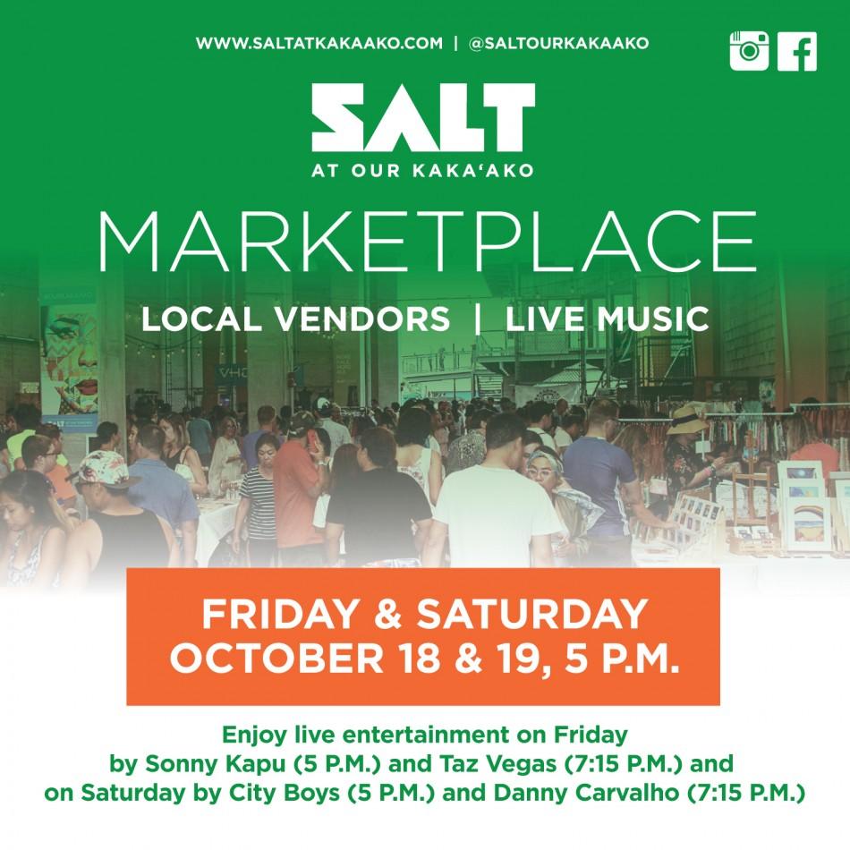 SALT at Our Kaka'ako's Marketplace